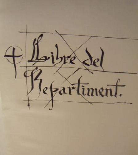 Resultado de imagen de Llibre del Repartiment de Mallorca