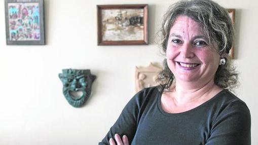 La profesora malagueña María Elvira Roca