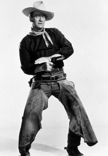 Las poses de John Wayne son todo un tutorial de masculinidad. O no.