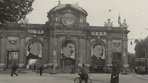 Resultado de imagen de madrid sovietico