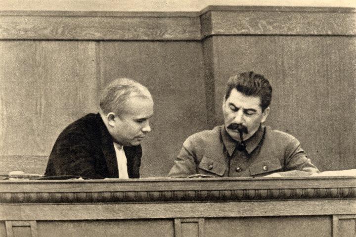 Resultado de imagen de stalin kruschev