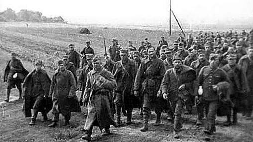 Polacos capturados por los soviéticos tras la contienda