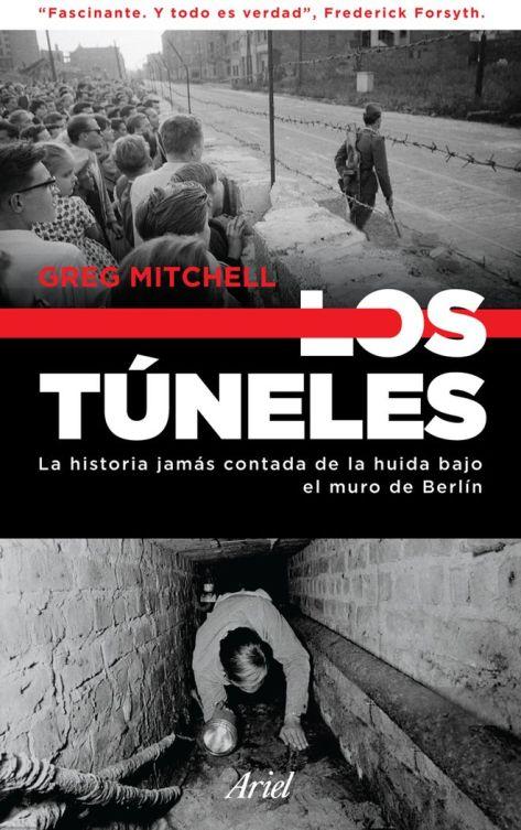 Un detalle de la portada de 'Los túneles'