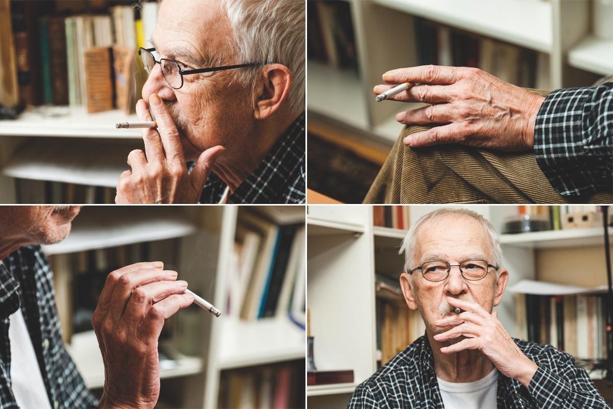 """""""El tabaco es la droga de la gente honrada, como decía Molière, el tónico cerebral por excelencia"""""""