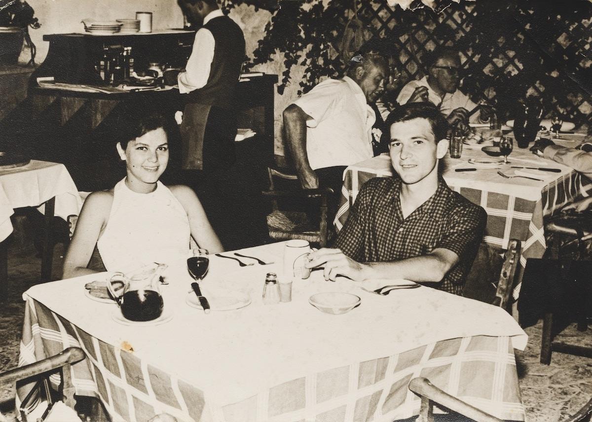 Cristina y Antonio, un 24 de julio de 1964, un poco antes de la revolución sexual