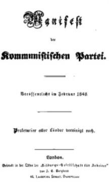 Manifiesto Comunista 1848