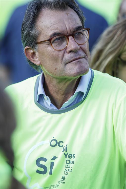 Expresidente 8 Artur Mas. -