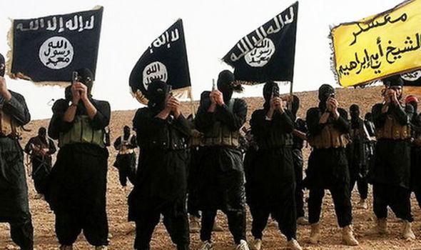 Resultado de imagen de daesh flag