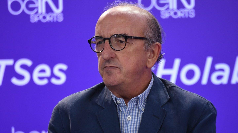 El fundador de Mediapro, Jaume Roures, durante un acto.