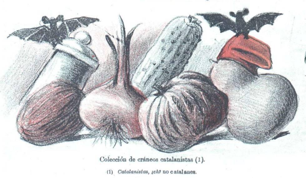 Las tesis del doctor Robert, en la publicación satírica 'Don Quijote', en 1901.
