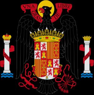 Resultado de imagen de sello oficial gobierno franco