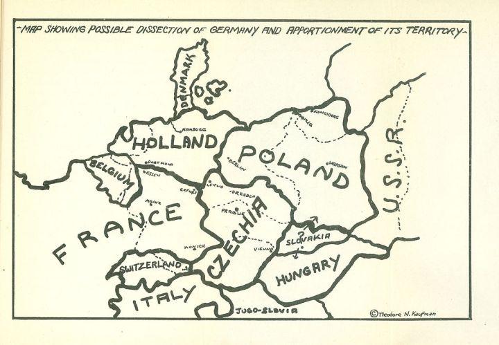 Resultado de imagen de Plan Morgenthau