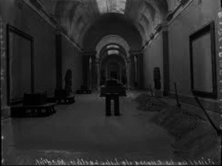 Una imagen del Museo del Prado en 1939.