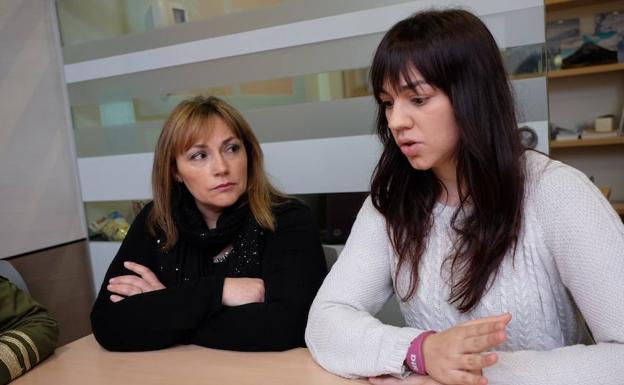 Marian y Ainara.