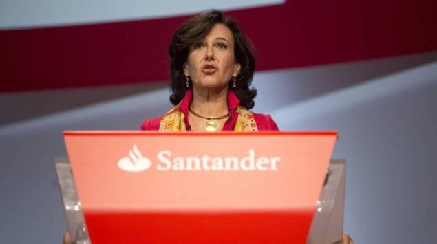 Ana Patricia Botín, presidenta del Banco Santander, en una foto de archivo.