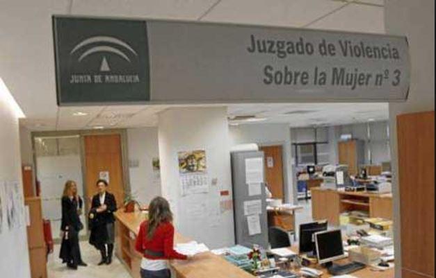 Un juzgado de violencia de género en Andalucía.