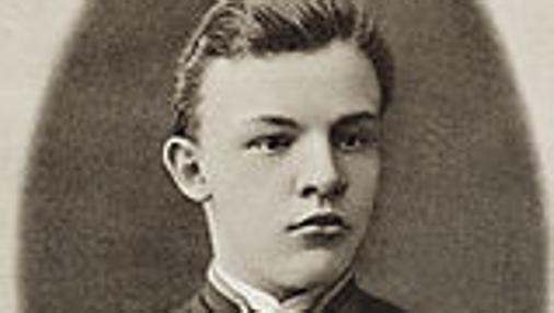 Lenin, en su juventud- Wikimedia