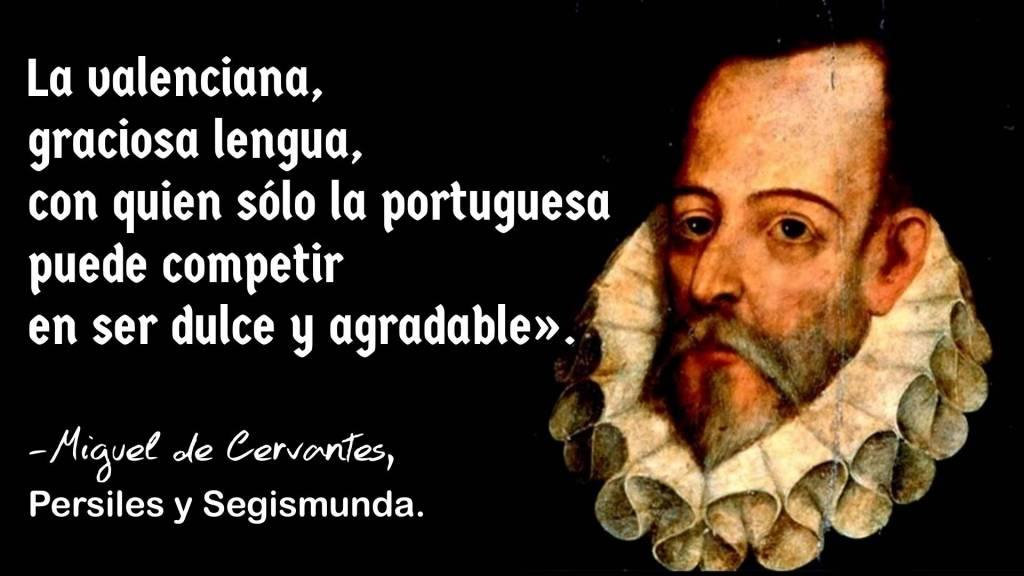 Cita de Miguel de Cervantes