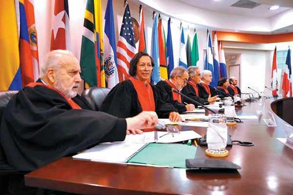 Los 9 miembros de la Corte Interamericana de Derechos Humanos deciden sobre las 22 naciones miembros.