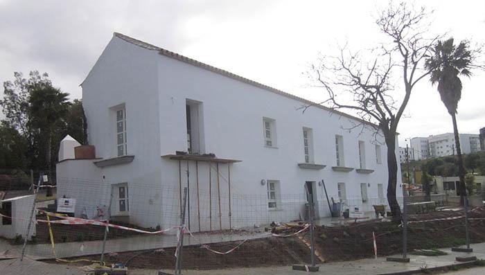 Obras actuales en la conocida finca Varela, en San Roque