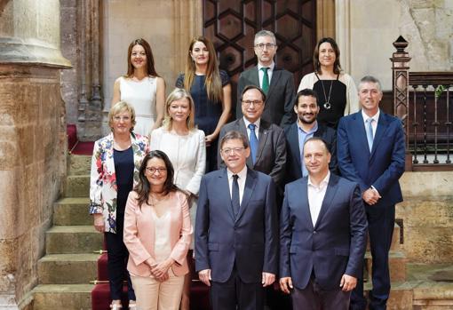 Imagen del nuevo Gobierno valenciano