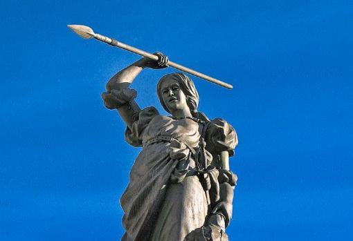 Monumento a María Pita, La Coruña.