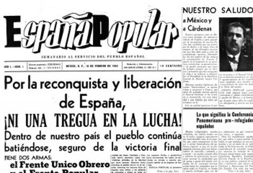 Portada de España Popular