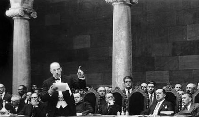 Álvaro López Núñez en la Diputación de León.