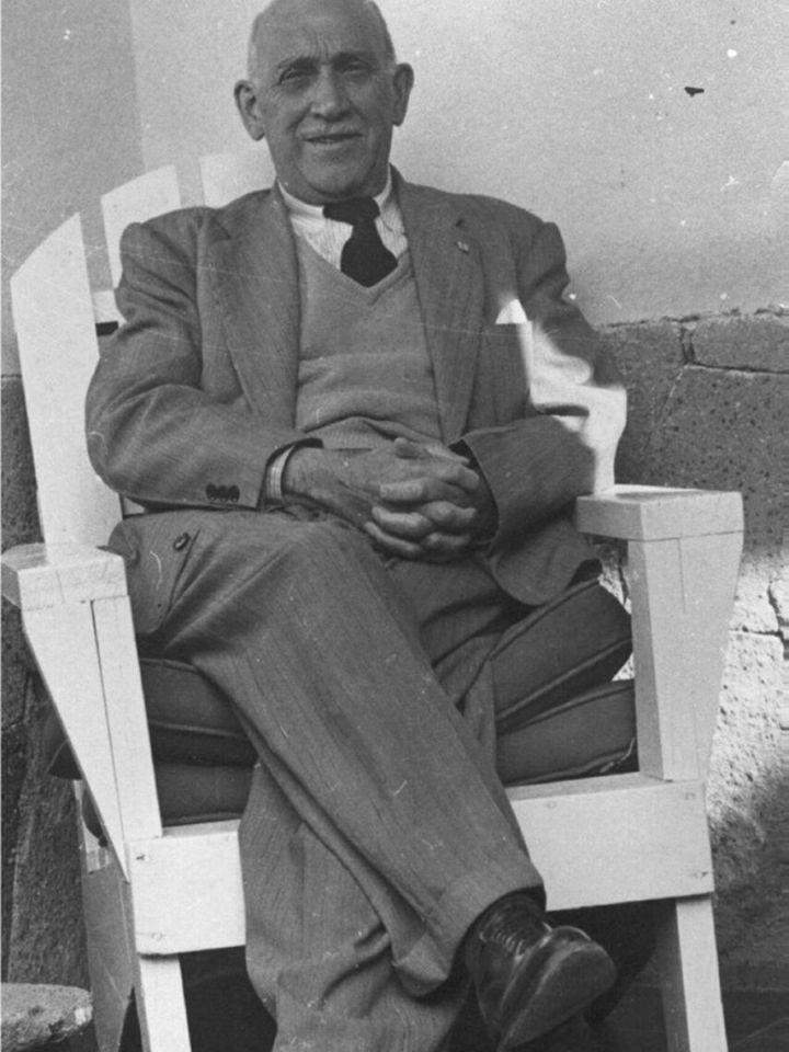 Iglesias Portal, en su última etapa de exilio en México.