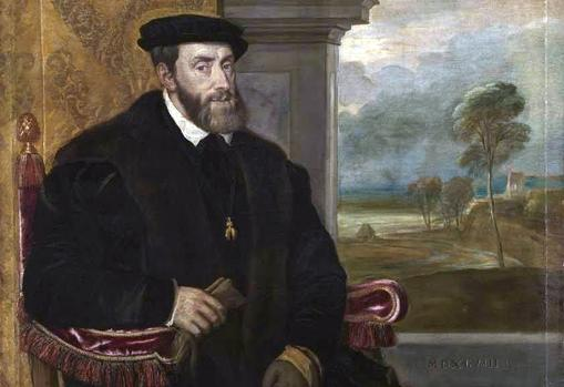 Retiro de Carlos V, por el pintor Tiziano