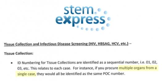 "CMP de ""caso único"" stemexpress"