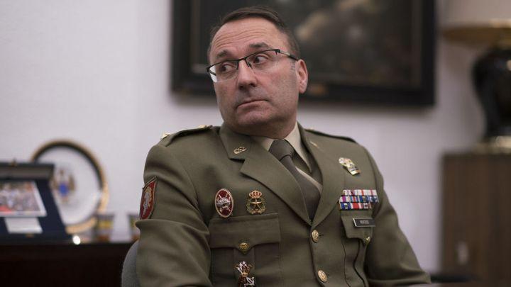 El teniente coronel Monterde.