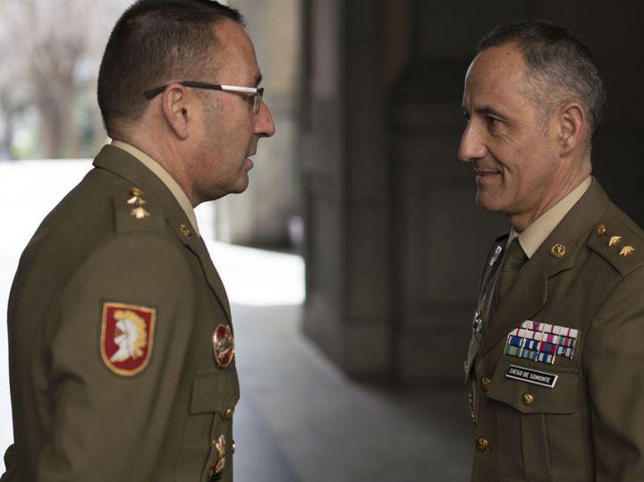 José Luis Monterde y Jesús Diego de Somonte, durante la entrevista con EL ESPAÑOL.