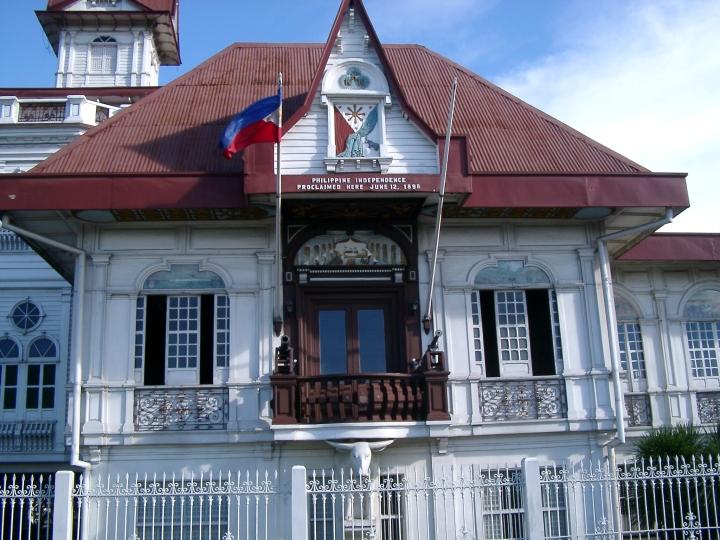 Resultado de imagen de Casa de Emilio Aguinaldo en Cavite WIKIPEDIA