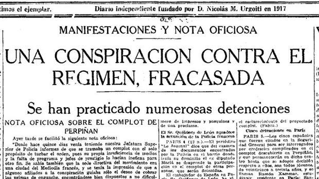 Francesc Macià organizó y dirigió el intento de invasión de Cataluña en 1926