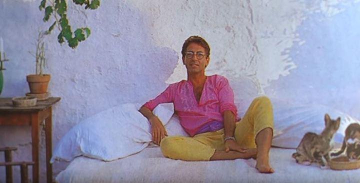 Carlos Martorell en su casa de Ibiza