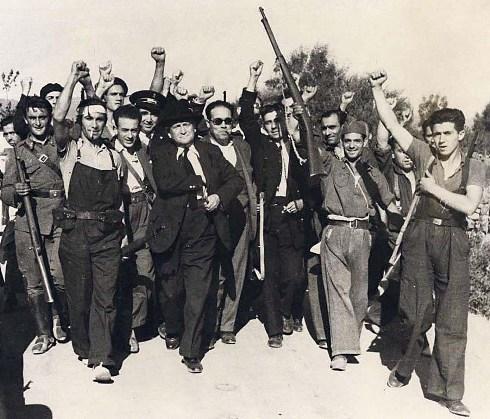Resultado de imagen de largo caballero fusiles