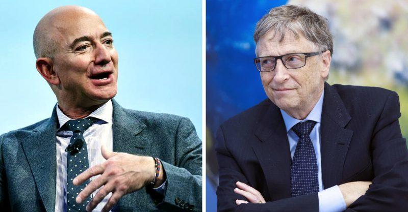 Lockdown le ha aportado a Bezos 70.000 millones de dólares y a Bill Gates 20.000 millones de dólares.