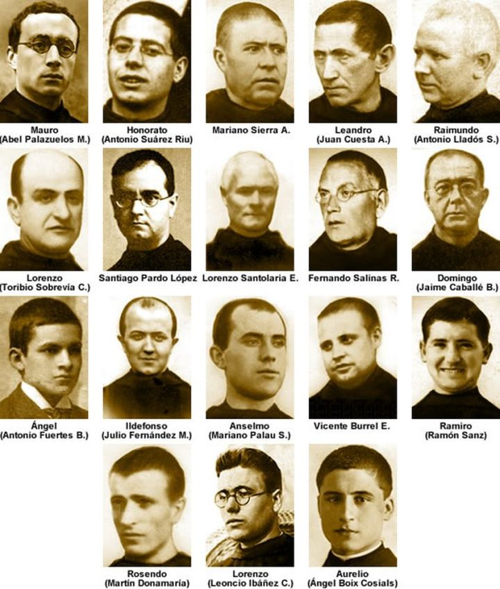 Los 18 mártires benedictinos