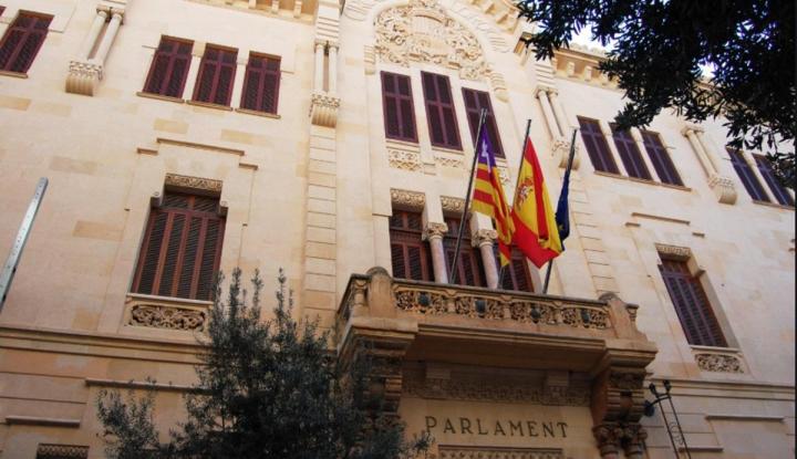 Parlamento de Baleares. Fuente Wikipedia