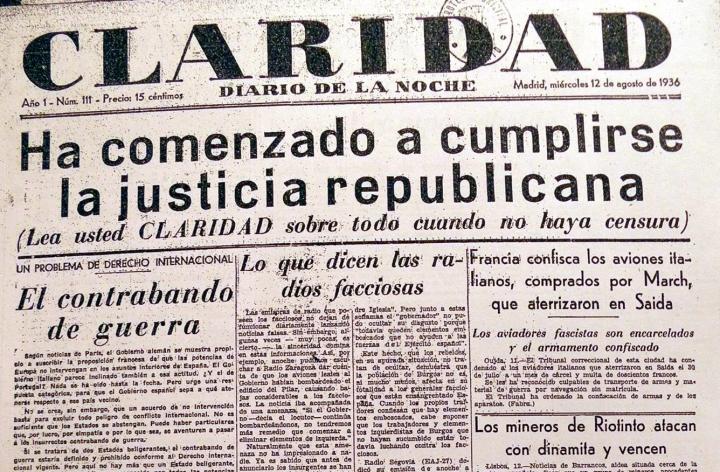 Los crímenes de la Revolución Española (1936-37) en Vallecas - Limpia por  dentro