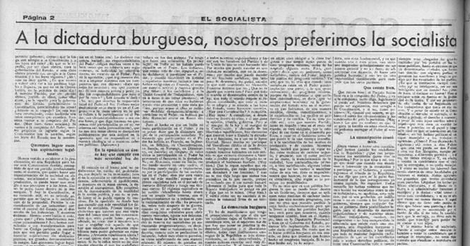 EL PSOE A PRINCIPIOS DE 1934: ¿UN PARTIDO REVOLUCIONARIO? – Página 2 – Ser  Histórico